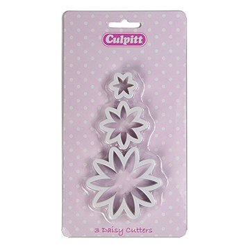 Culpitt Daisy Flower Cutters Set of 3