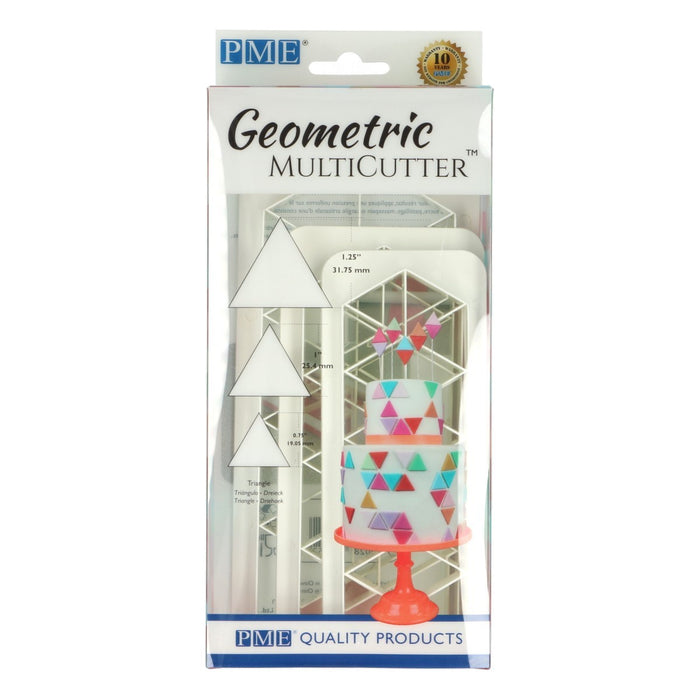 PME Triangle Geometric Cutter Set of 3