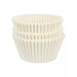 54 White Cupcake Baking Cases - SimplyCakeCraft