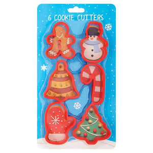 Culpitt 6 Christmas Cookie Cutters - SimplyCakeCraft