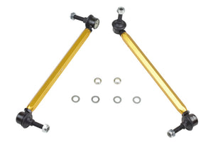 Whiteline 05+ BMW 1 Series/3/05-10/11 3 Series Front Swaybar - Link Assembly  H/Duty Adj Steel Bal