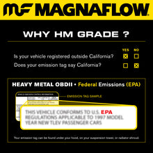 Load image into Gallery viewer, MagnaFlow Conv Univ 2.25inch GM 3.8L