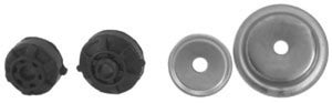 KYB Shocks & Struts Strut Mounts Front & Rear FORD Aspire 1994-97 FORD Festiva 1988-93 MAZDA Miata (
