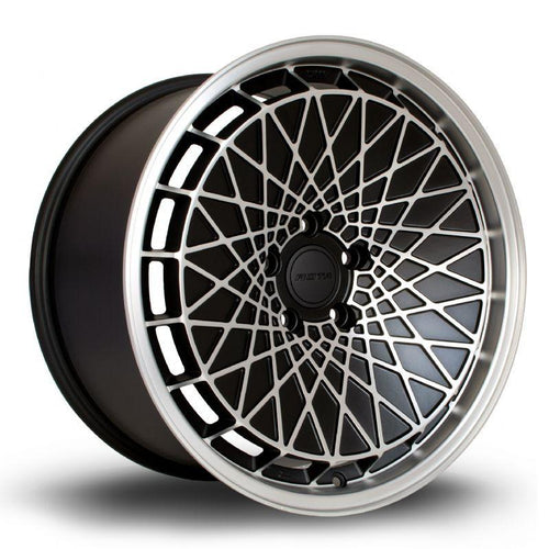 Rota RM100 18x9 +42 5x100 Black Machine