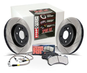StopTech Sport Axle Pack Slotted Rotor - Rear
