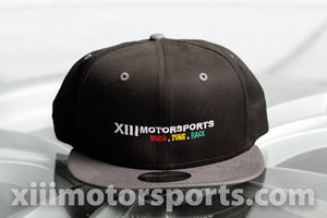 XIIIMOTORSPORTS New Era 9FIFTY Snap Back Hat