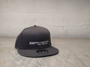 XIIIMotorsports Logo Hat - 9Fifty