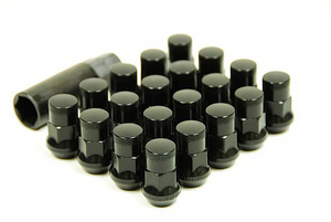 Muteki SR35 Closed end lug nuts 12x1.25 Black