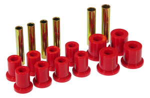 Prothane 71-87 GM K10-30 4wd Front Spring Bushings - Red - 7-1007