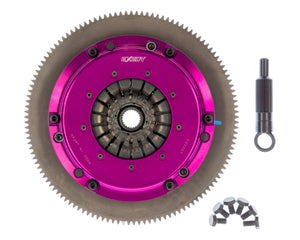 Exedy 1986-1989 Mazda RX-7 R2 Hyper Single Carbon-D Clutch Sprung Center Disc Push Type Cover