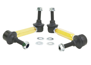 Whiteline Universal Sway Bar End Link Kit - 130-155mm Heavy Duty Adjustable - 10mm Ball Studs