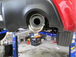 Megan Racing Drift Spec Catback Exhaust - SS Tip - BRZ/FRS MR-CBS-SFR12-DS-SS-R + MR-CBS-SFR12-DS-M