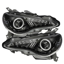 Load image into Gallery viewer, Spyder Headlight Projector DRL/LED Black for 2013+ Scion FR-S/ BRZ [ZN6/ZC6] PRO-YD-SFRS12-BK