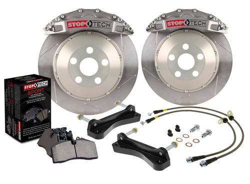 Stoptech Trophy Sport Big Brake Kit 4 Piston Caliper 300x32mm Slotted 2-Piece Rotor (BRZ/FRS) 2013-2016