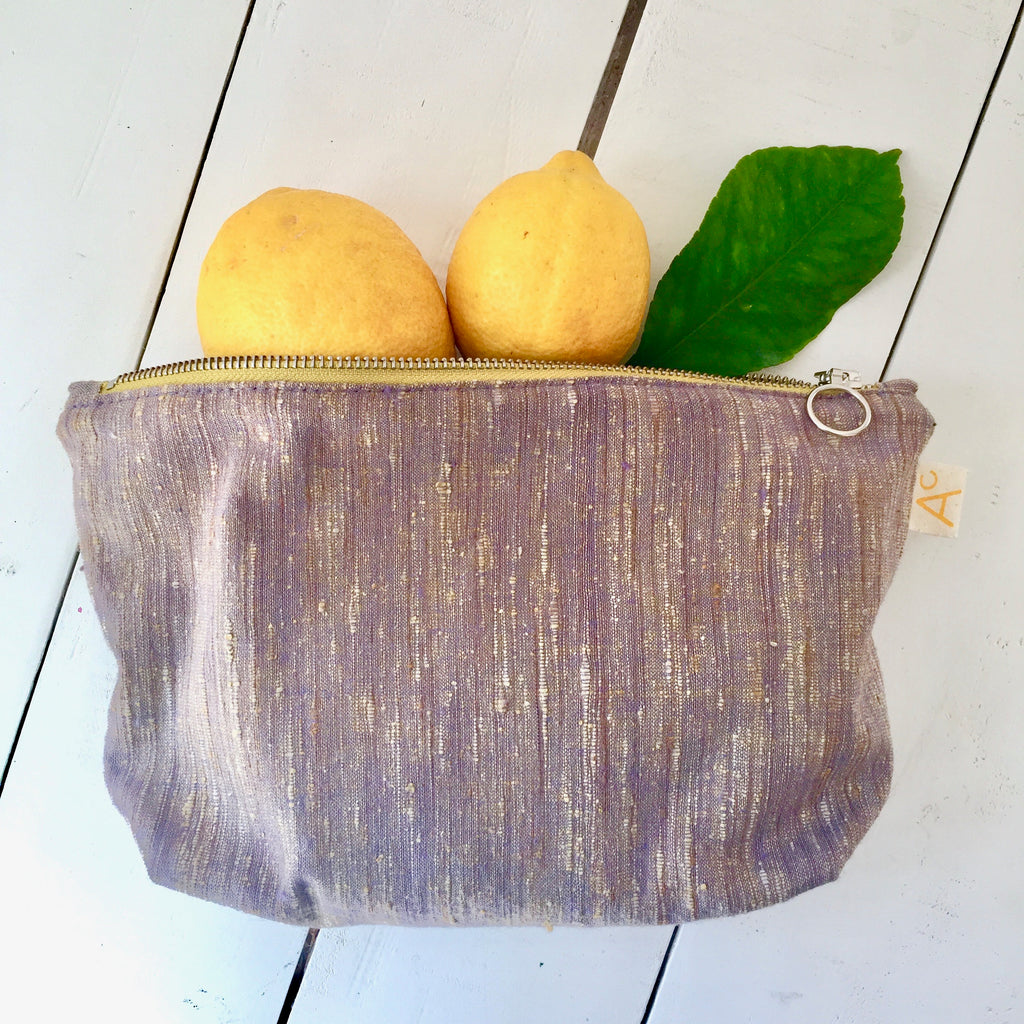Recycled Fabric Travel Pouch