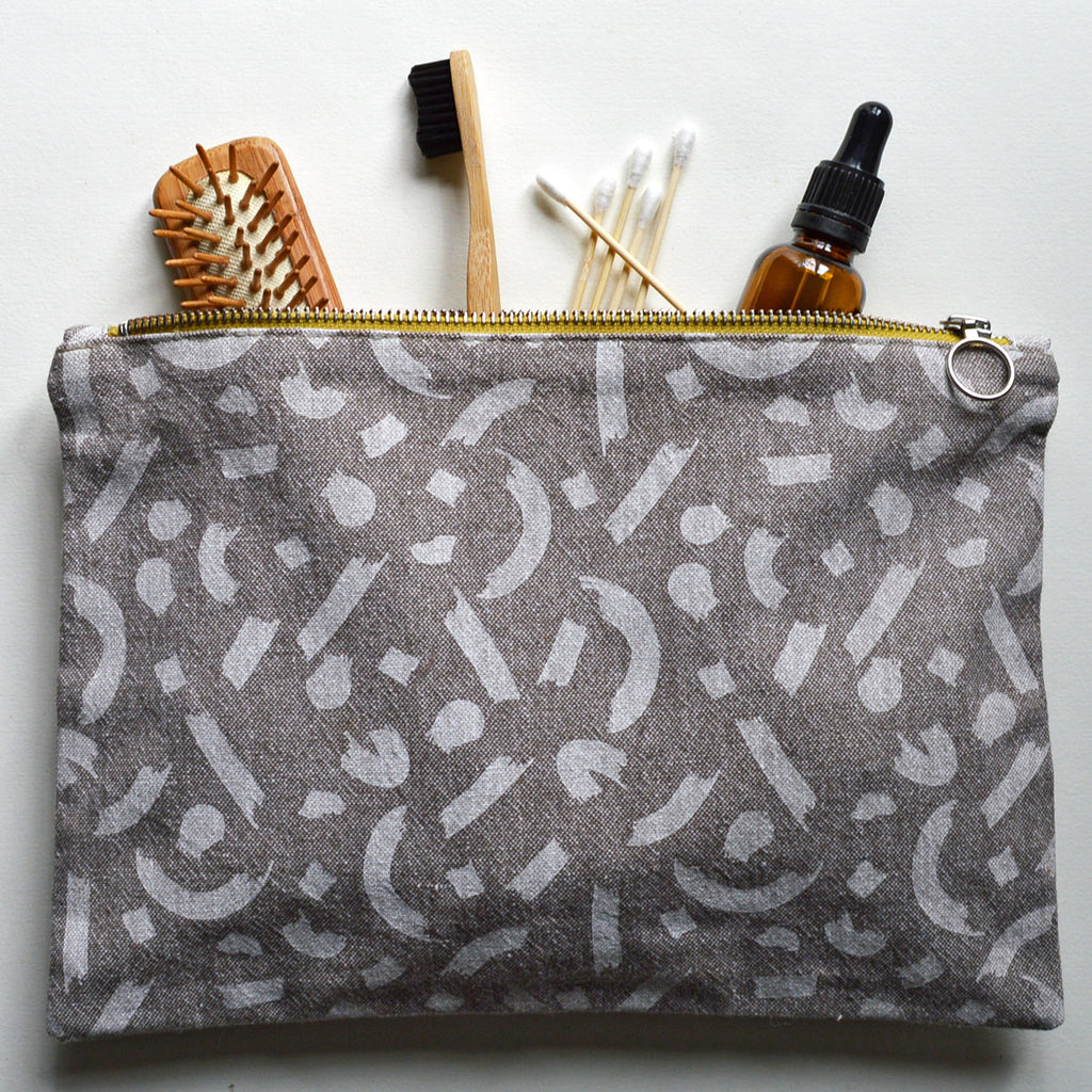 Breakdown Brushstroke Clutch by Ottostop