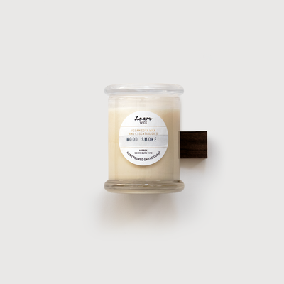 Wood Smoke Soy Candle by Loam - Quanstrom Studio