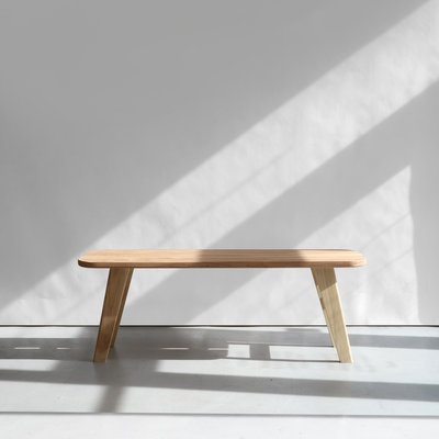 Kirkwood Bench in Ash - Quanstrom Studio