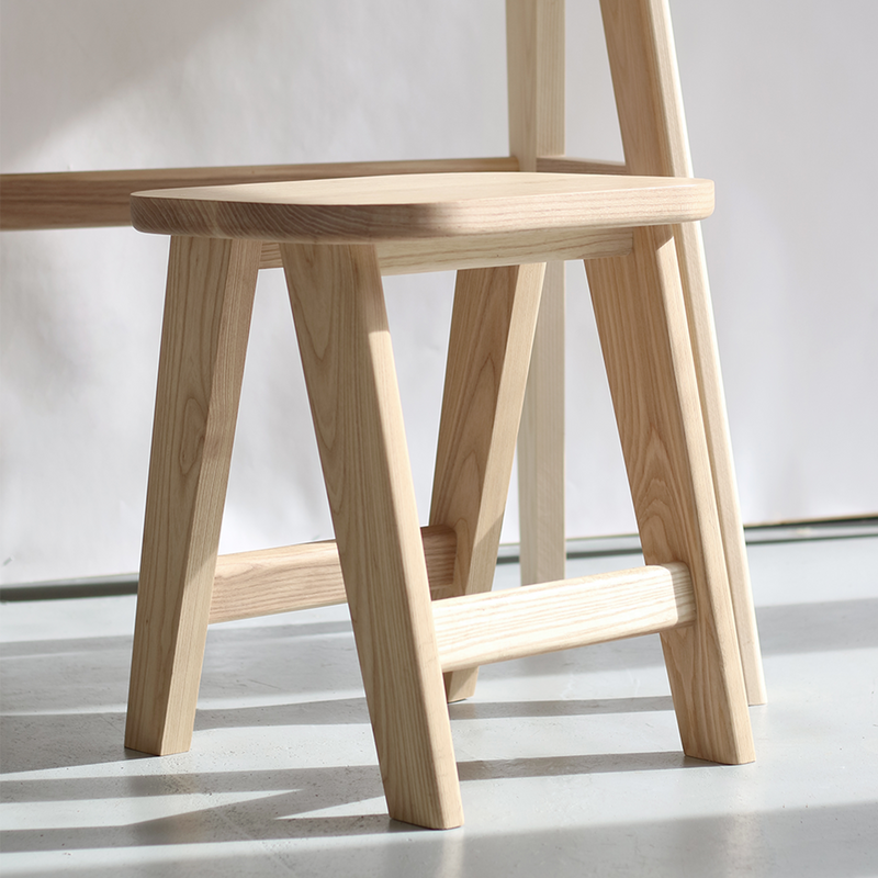 Kirkwood Stool in Ash