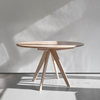 Cambridge Circular Dining Table in Ash - Quanstrom Studio