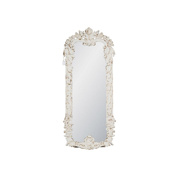 DISTRESSED WHITE MIRROR