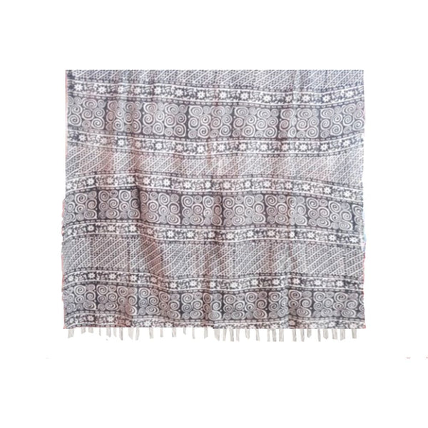 COTTON PRINTED THROW