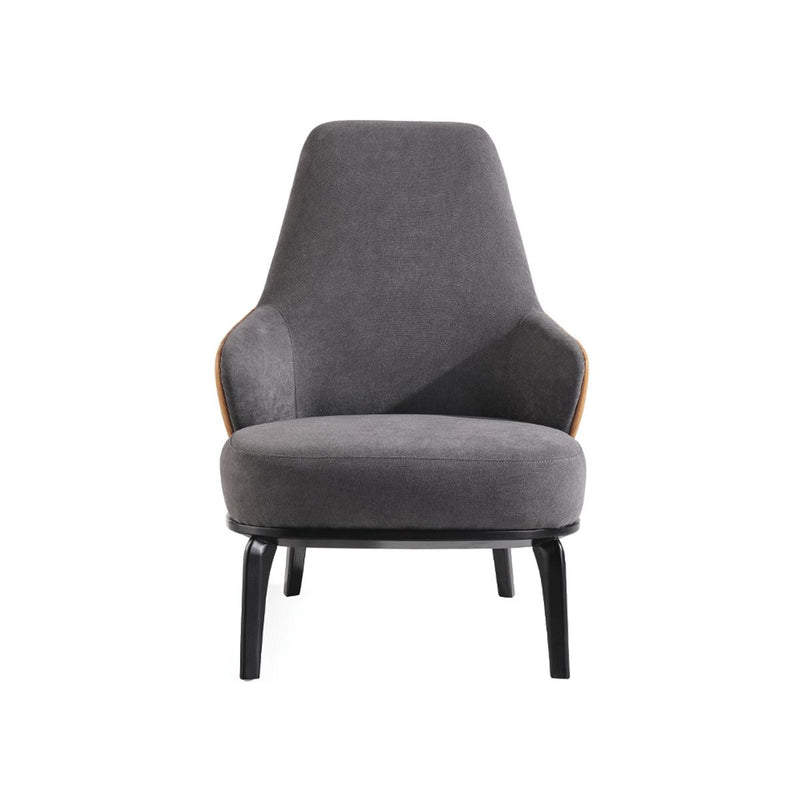 ARMCHAIR FABRIC AND MICRO-LEATHER