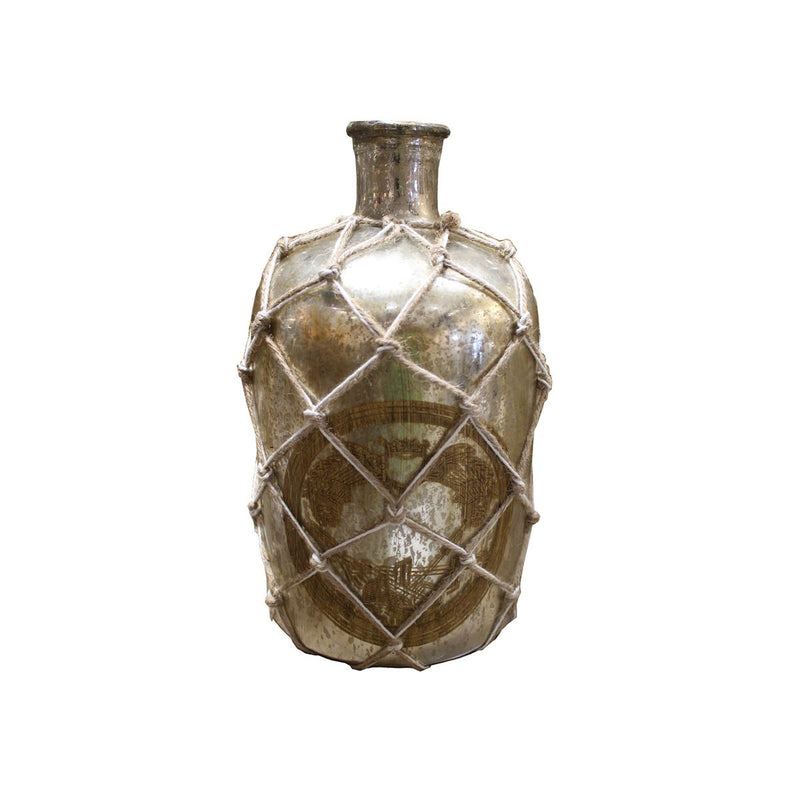 GLASS DECORATIVE BOTTLE