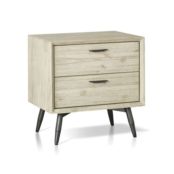 JENSON NIGHT STAND, 2 DRWS,  COLOR 1862A