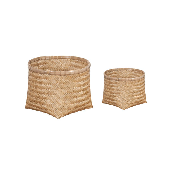 ALICE BASKET SET OF 2 NATURAL