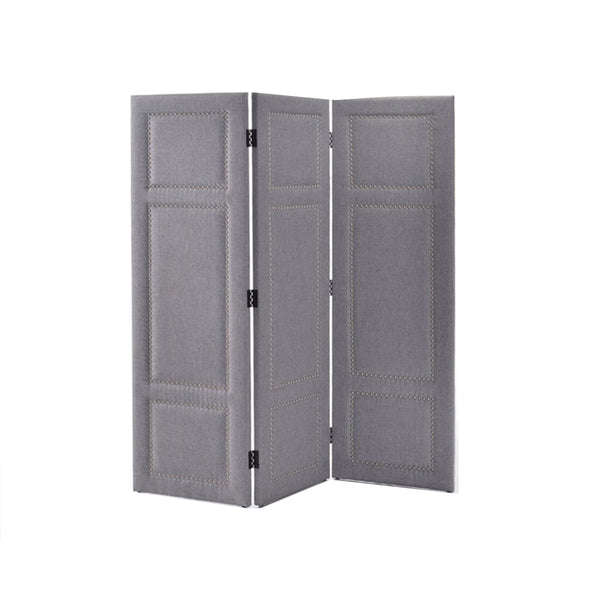 ROOM DIVIDER FABRIC XD45 COL 17 GREY W1525XD35XH1655 M
