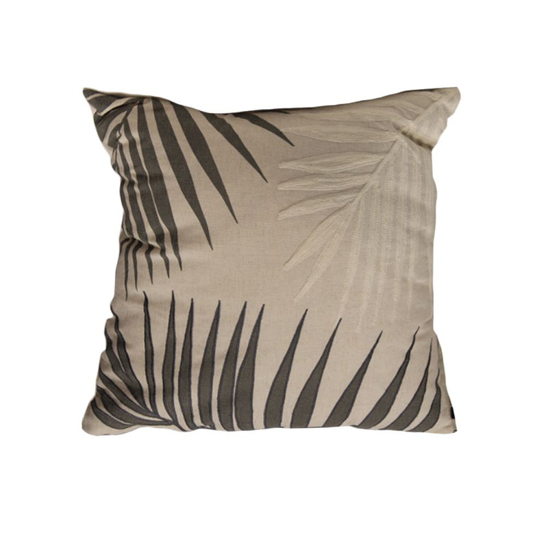 CUSHION (PRINT + EMBROIDERY WITH FILLER + VACUUM - BACK PLAIN