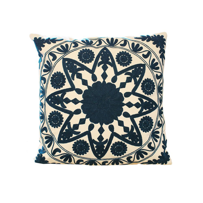 EMBROIDERY CUSHION COVER WITH FILLER VACCUM PACKED