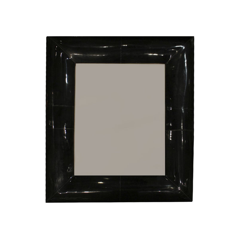 FRAME IN BLACK HORN WIDE BORDER