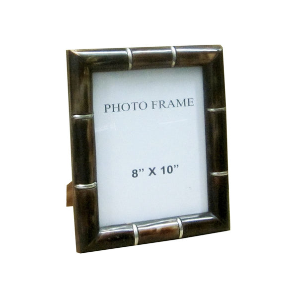 FRAME IN ANT.HORN PIPE WITH METAL RINGS 8X10X1.5""