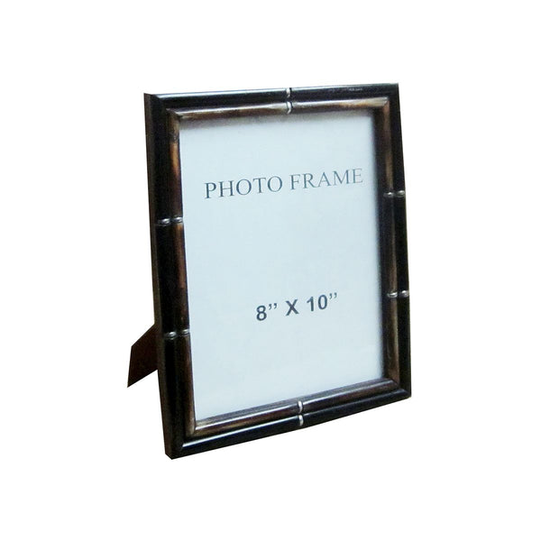 THIN BORDER FRAME BLACK OUTER BROWN INNER 8X10X1""