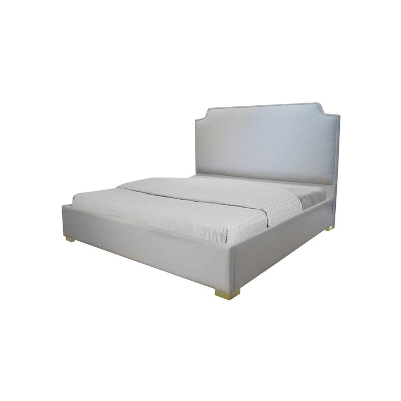 BED KING LIGHT GREY