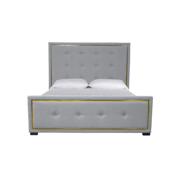 KING BED GREY