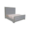 QUEEN BED GREY