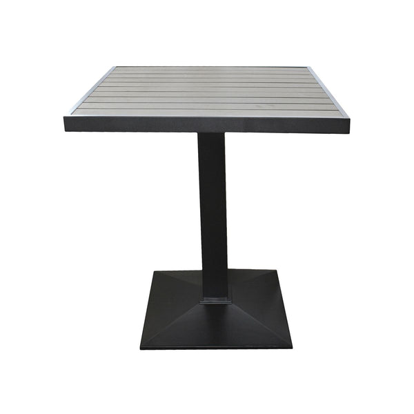 SQUARE POLYWOOD TABLE