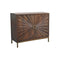 WD.2 CARVED DOOR SIDEBOARD W/ IRON BASE