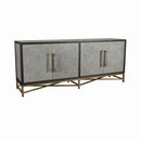 SIDEBOARD PU02, METAL BRASS MT07
