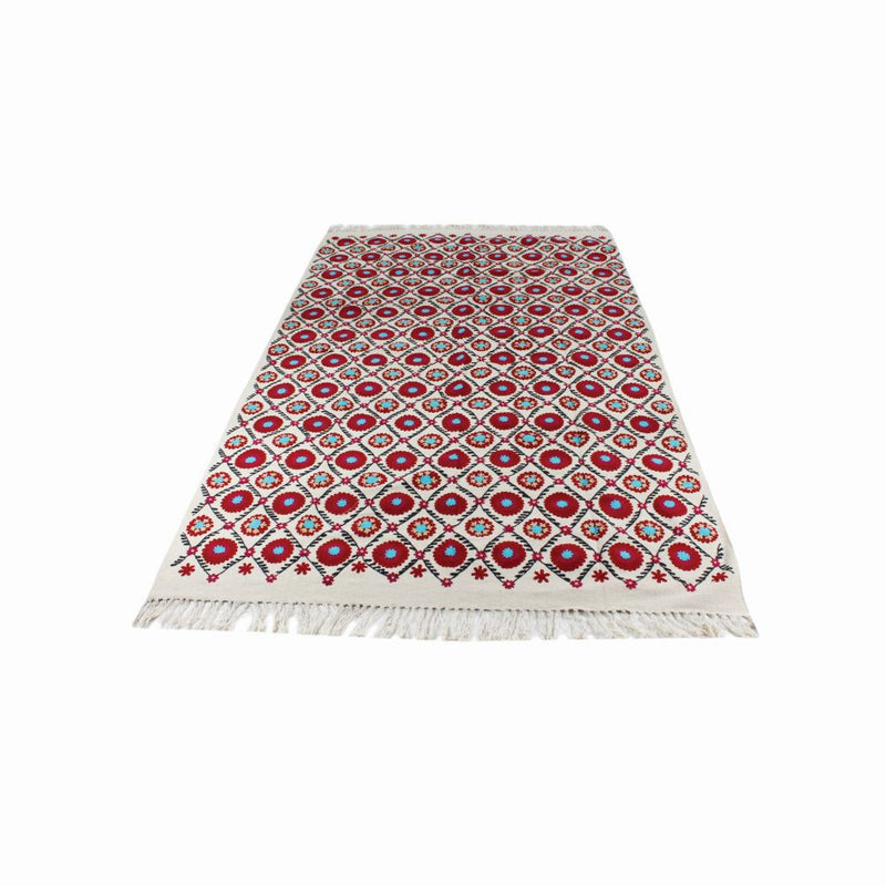 EMBROIDERED FLOOR RUGS