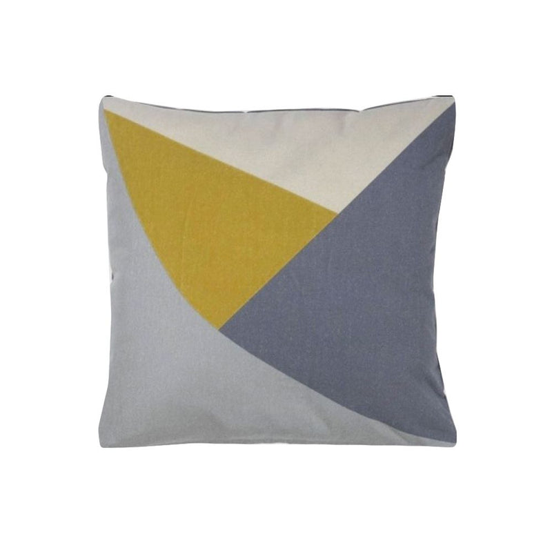 EMBROIDERED CUSHION COVER WITH FILLER