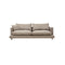 SOFA DE TRES ASIENTOS EN TELA COLOR SLATE
