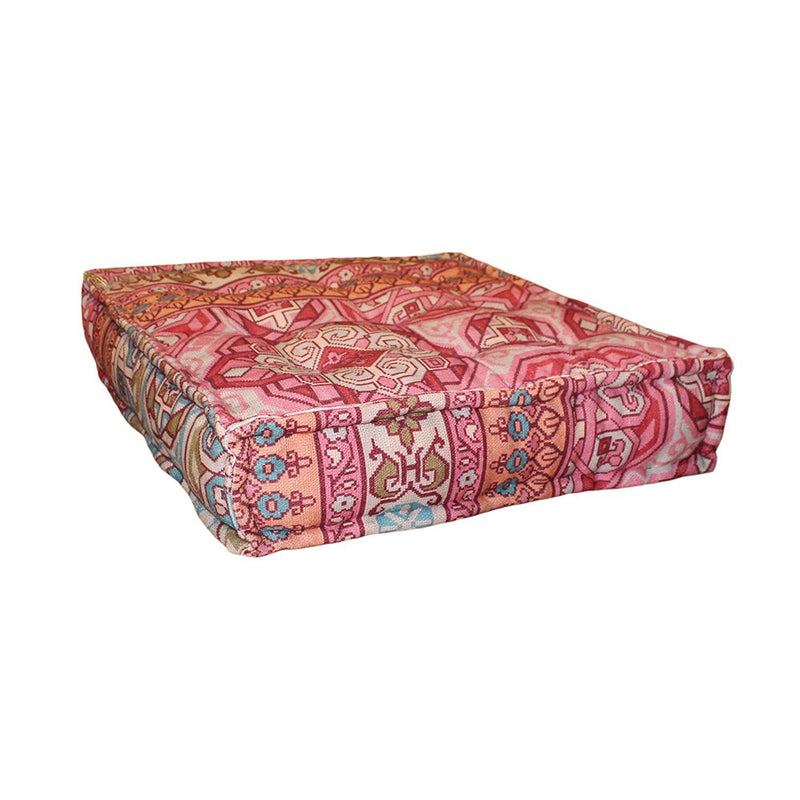 BOTTOM CUSHION COTTON KILIM MULTI COLOR