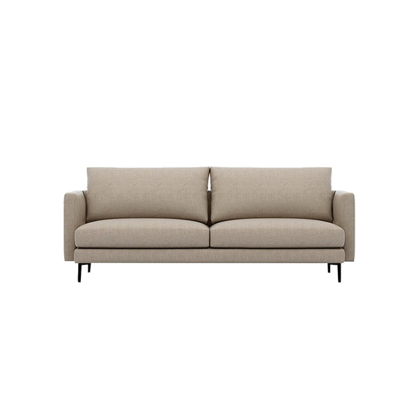 SOFA NOTTING DE TRES ASIENTOS EN TELA COLOR SLATE