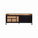 SIDEBOARD BLACK OAK