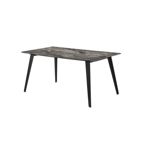 TABLE TOP WITH CEMENT PALADINA LEG METAL POWDER COATING LEG COLOUR BLACK