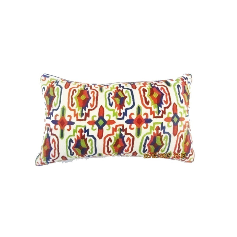 ARTISTIC EMBR  CUSHION COVERS  40X60 CMS